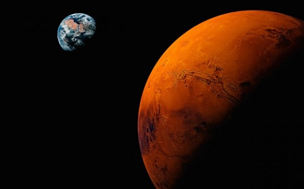 Mars-Zemlja