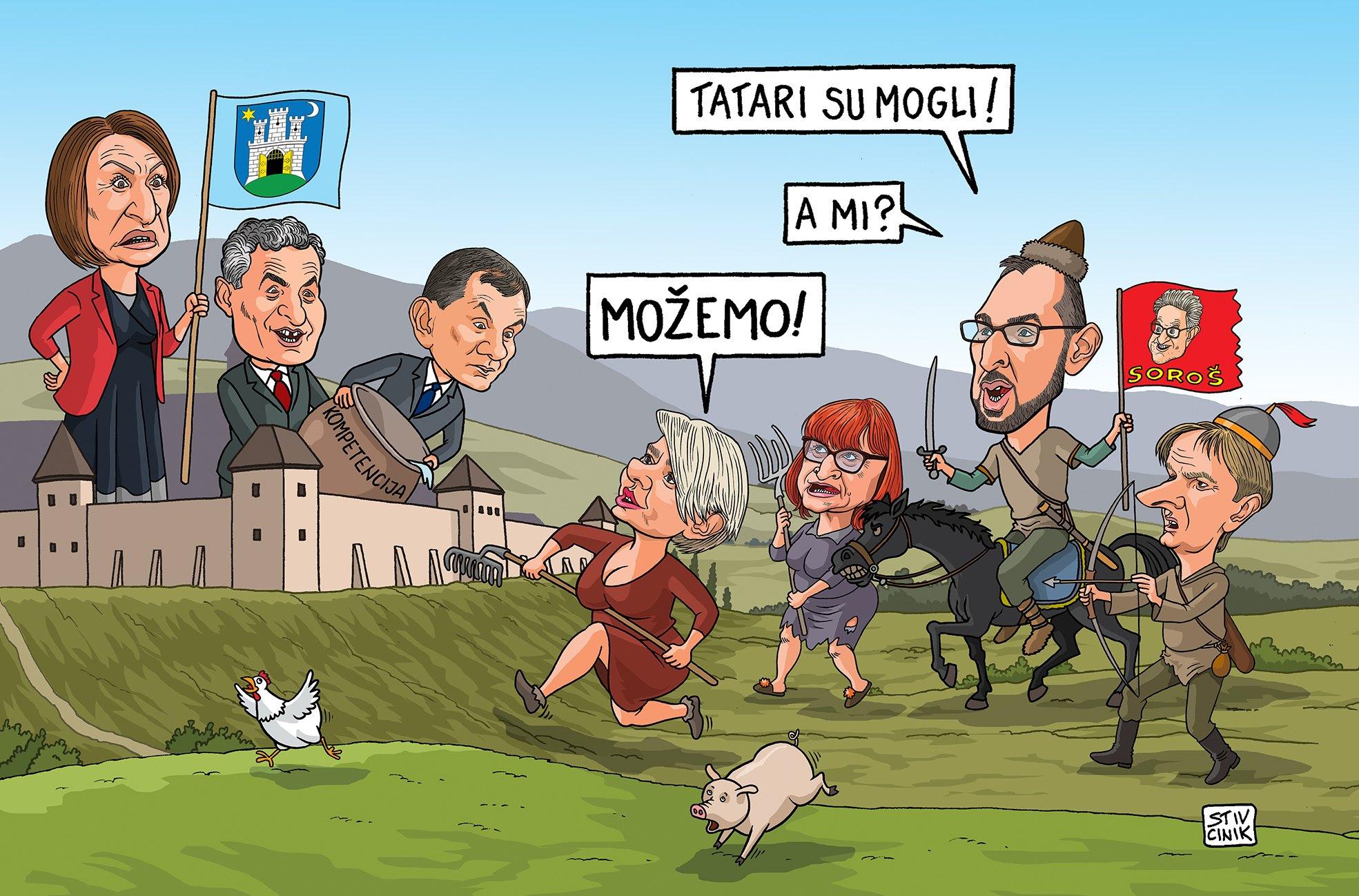 """MOŽE LI """"MOŽEMO!"""" OSVOJITI ZAGREB? - PANOPTICUM"""